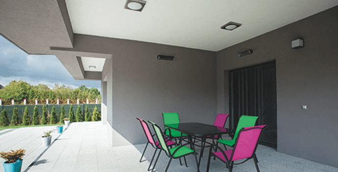 Why Herschel infrared is perfect for patio heating
