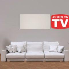 Herschel Select XLS White Infrared Heater Panel